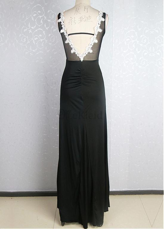 t ll glamour s spitze kleid applikationen juwel ausschnitt mantel formale club kleider. Black Bedroom Furniture Sets. Home Design Ideas