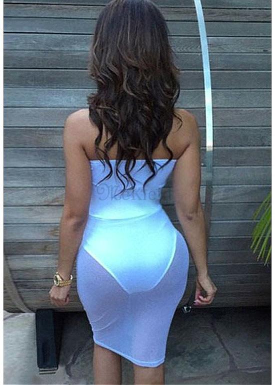 durchschauen sexy Kleider