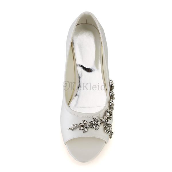 Sommer Elegant Flache Schuhe Hochzeitsschuhe Mekleid De
