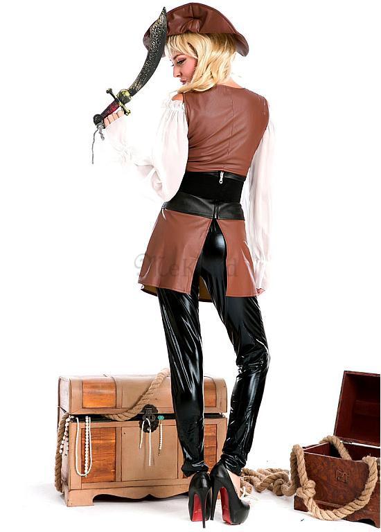 Pirat Oben Neu Herrlich Halloween Sexy Cosplay & Kostüme - MeKleid.de